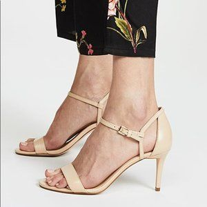 NWT and BOX Michael Kors Simone Ankle Strap Heels